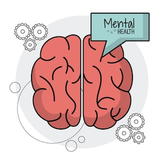 Brain human mental health functions