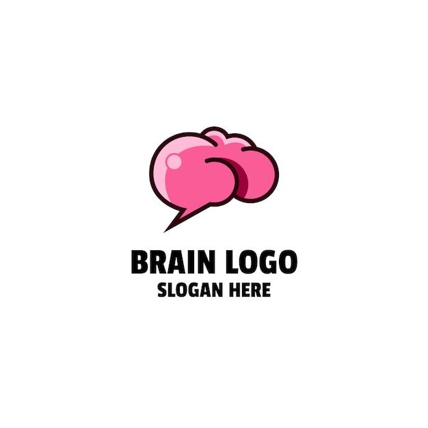 두뇌 로고 디자인