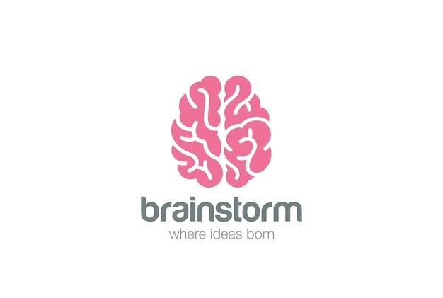 脳のロゴ。