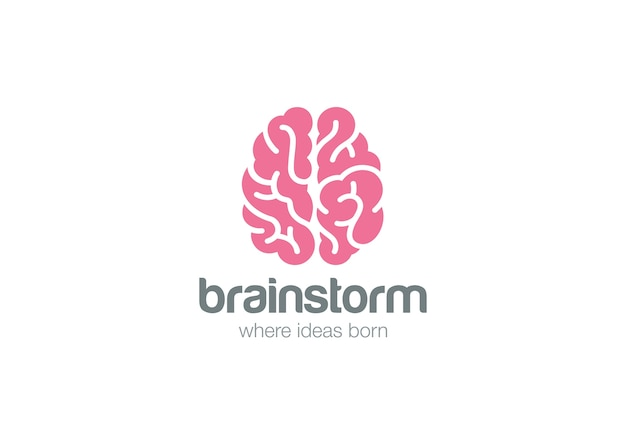 Логотип мозга.