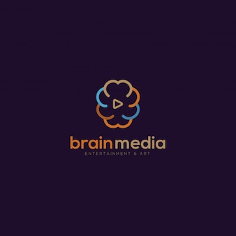 Brain media logo