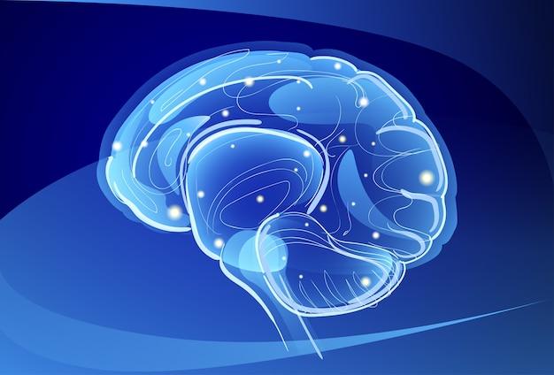 Brain neurons activity