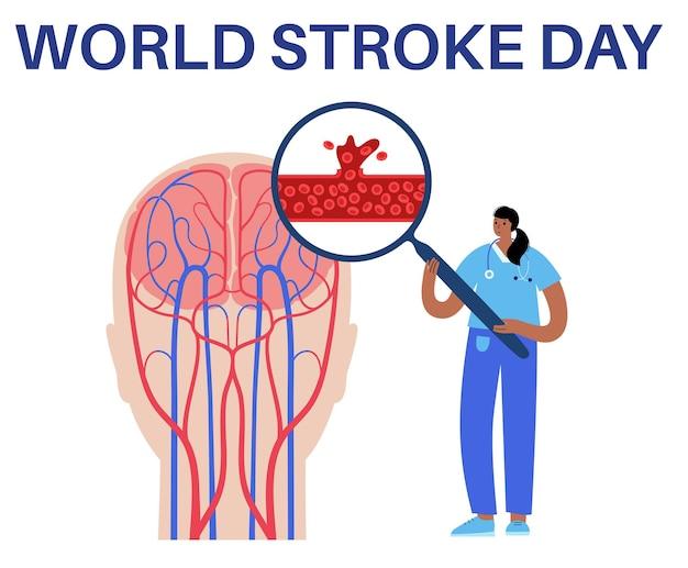 Brain stroke hemorrhagic