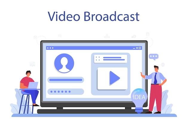 Brainstorm online service or platform