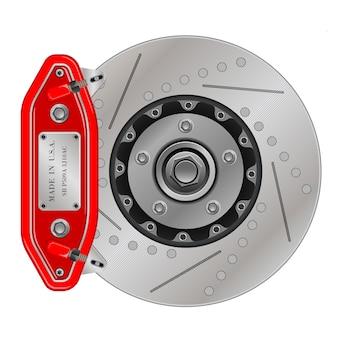 Тормозной диск с суппортом