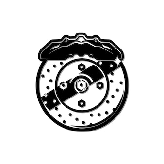 Brake disk caliper brake pads