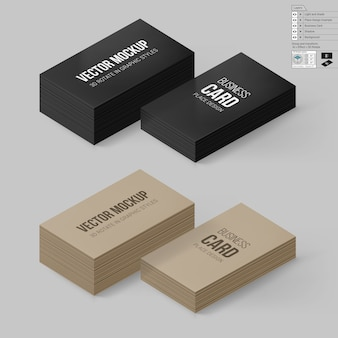 Branding business card