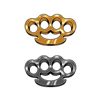 Brass knuckles set