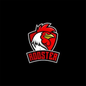 Bravely rooster logo