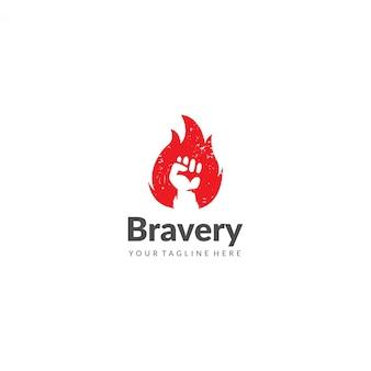 Bravery logo