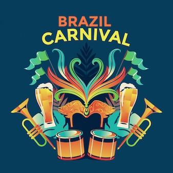 Brazil carnival celebration