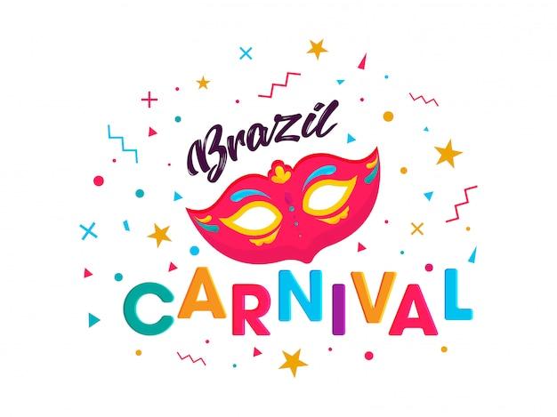 Brazil carnival party background.