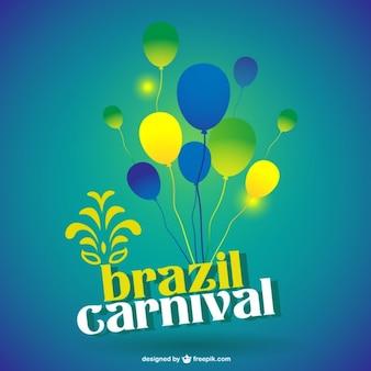 Brazil carnival template