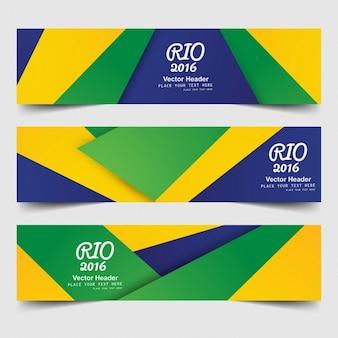 Бразилия цветные баннеры