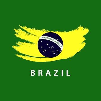 Шаблон логотипа для логотипа бразилии