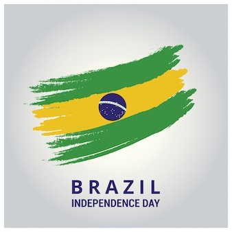 Brazil independence day flag design