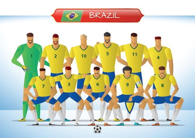 Brazil national football team for international tournament