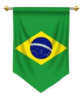 Brazil pennant