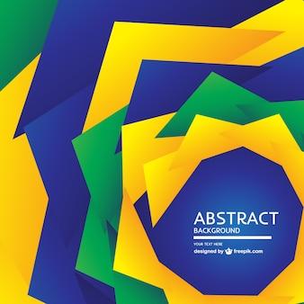 ブラジルの抽象的なデザイン無料の背景