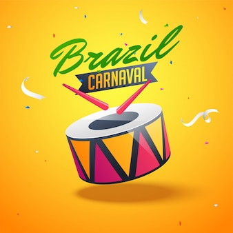 Brazilian carnival background.