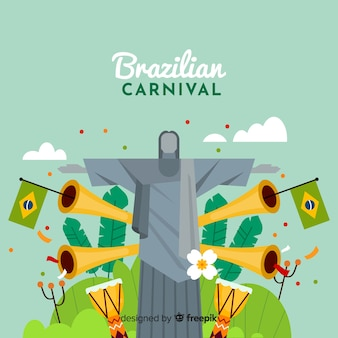Brazilian carnival background