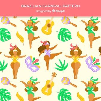 브라질 카니발 배경