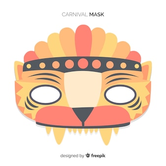 Бразильская карнавальная маска