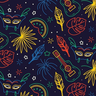 Бразильский карнавал в руке