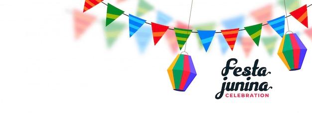 Brazilian festival festa junina design
