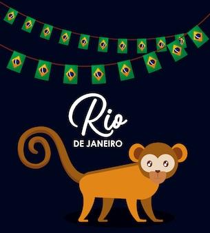 Brazilian traditional monkey