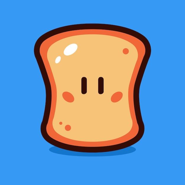 パン漫画のベクトル図