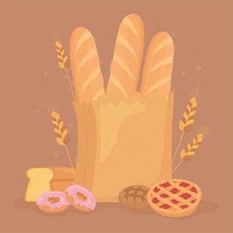 Хлеб десертный пищевой