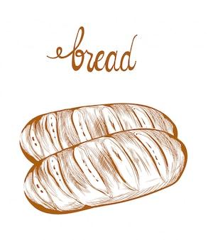Bread lineart