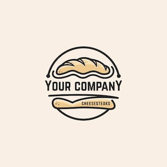 Bread logo template