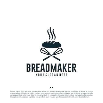Хлебопечка, шаблон дизайна логотипа