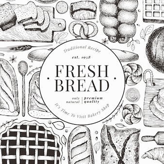 Bread and pastry flyer