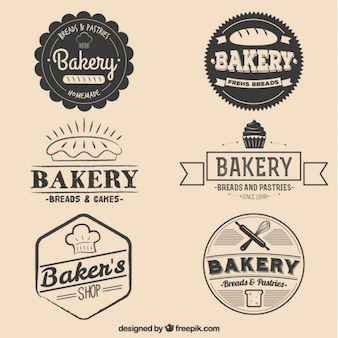 빵과 케이크 배지