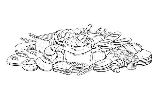 パン焼き菓子概要バナー