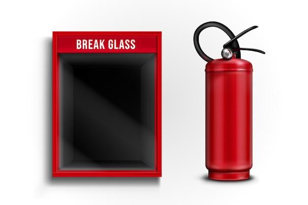 Бьющееся стекло для огнетушителя