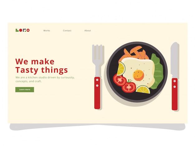 Breakfast 3 landing page