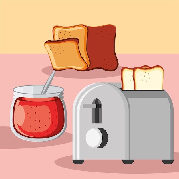 Хлебный джем на завтрак