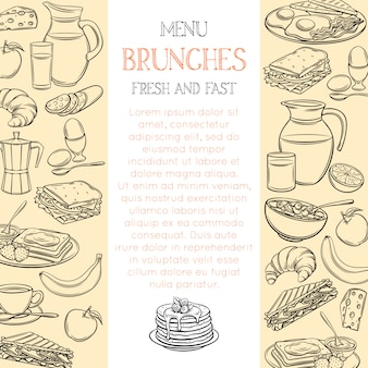 Breakfast page template