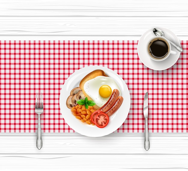 Завтрак стол