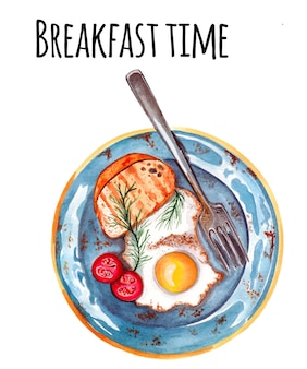 아침 식사 시간