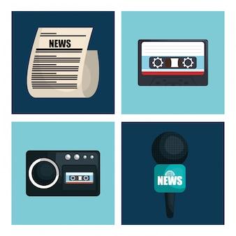 Breaking news design
