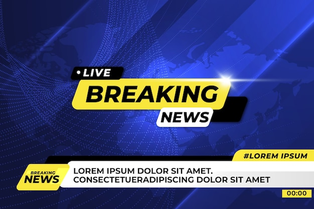 Breaking news live streaming