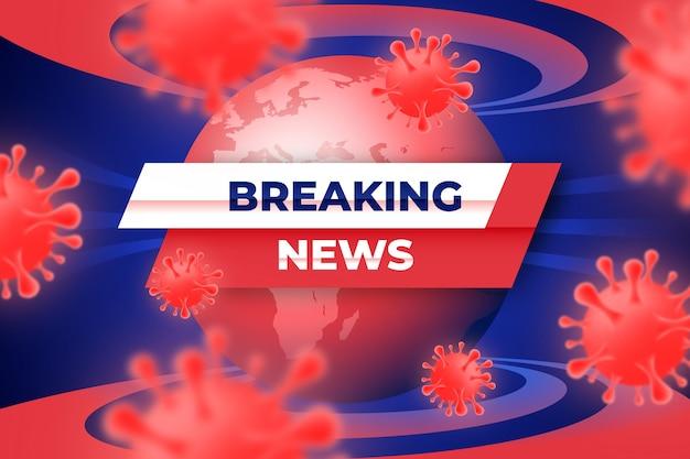 Ultime notizie sullo sfondo del coronavirus