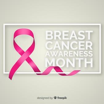 Priorità bassa di mese di consapevolezza del cancro al seno