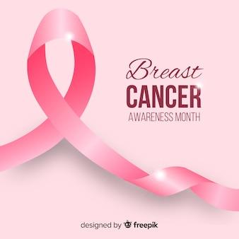 乳癌意識の月の背景
