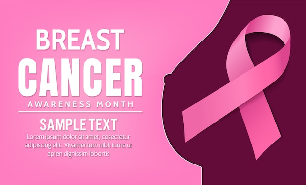Breast cancer awareness, vector design